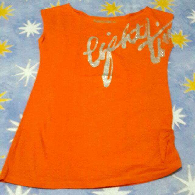 Kaos Sabrina Orange