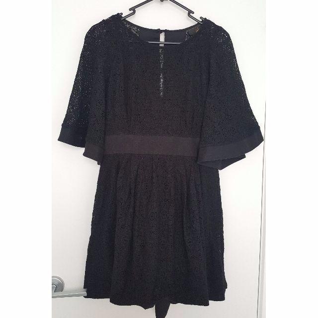 Konstantina Mittas for Sportsgirl black lace dress
