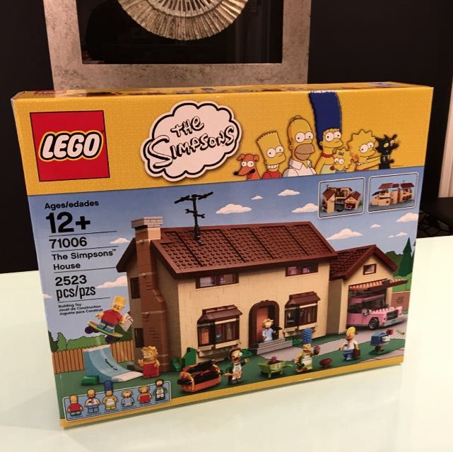 Lego 71006 The Simpson house