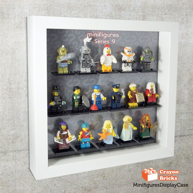 LEGO CMF Series 9 Minifigures Display Solution for IKEA Ribba Frame ...