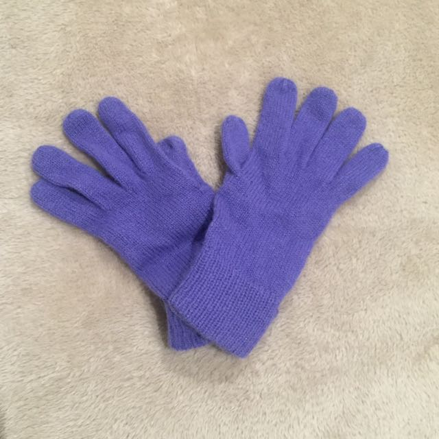 Lilac Gloves