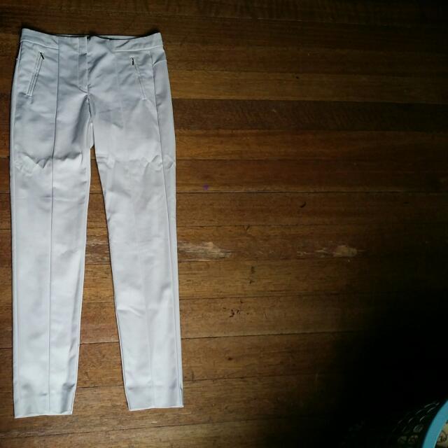 MANGO - Zip Up Trousers