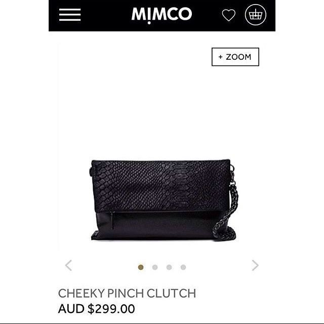 Mimco Cheeky Pinch Clutch
