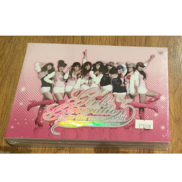 [NEW + SEALED] SNSD 1st Asia Tour: Into the New World by Girls Generation DVD KR