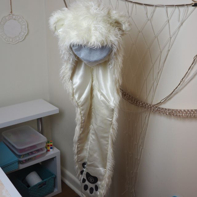 Original Polar Bear Spirit Hood