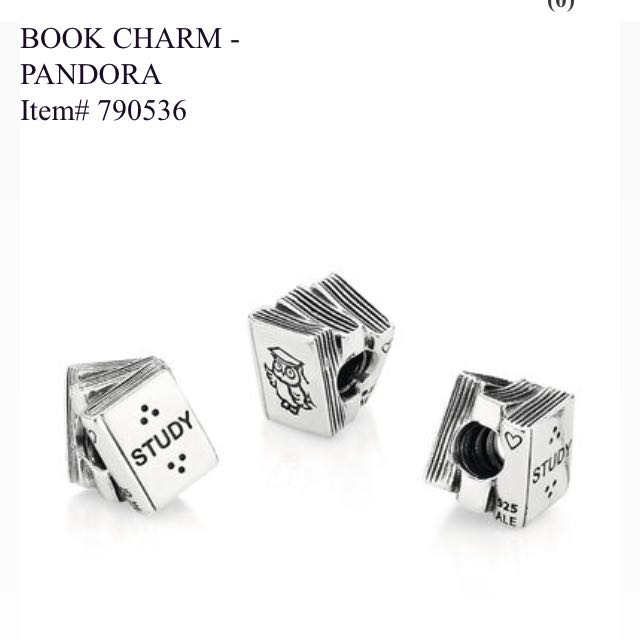 Pandora Book Charm