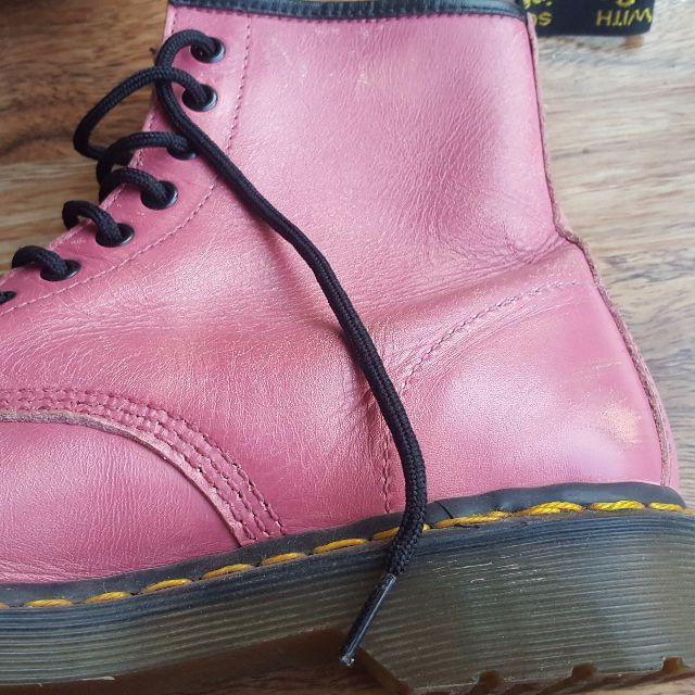 Pink 8 hole Doc Martens