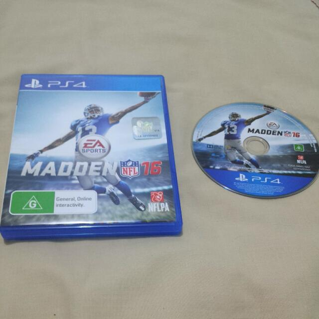 PS4 Game - Madden 16