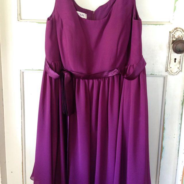 Purple Formal Dress S18