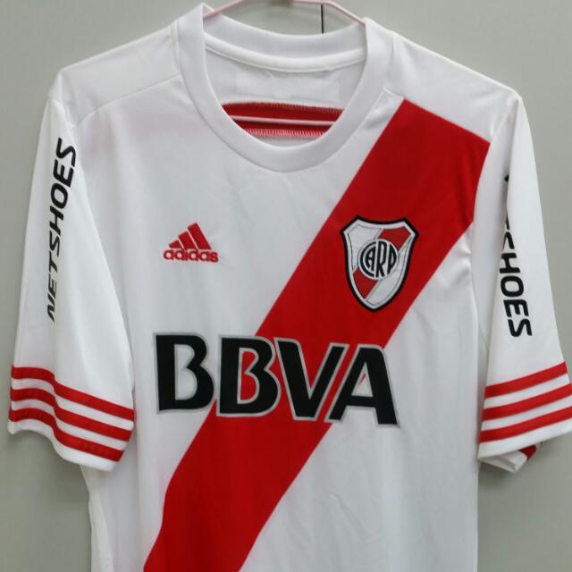 River Plate 15 16 Home Kit Size S 9fb78412e