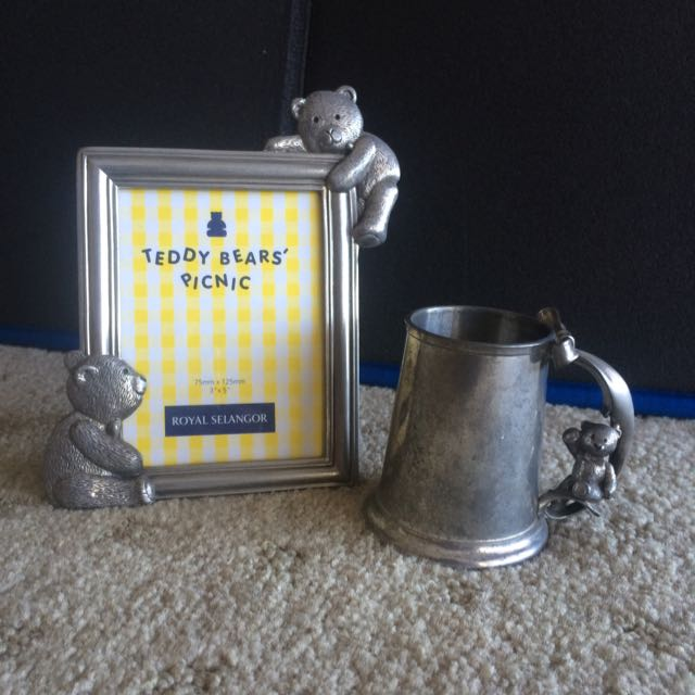 Royal Selangor Photo Frame and Cup