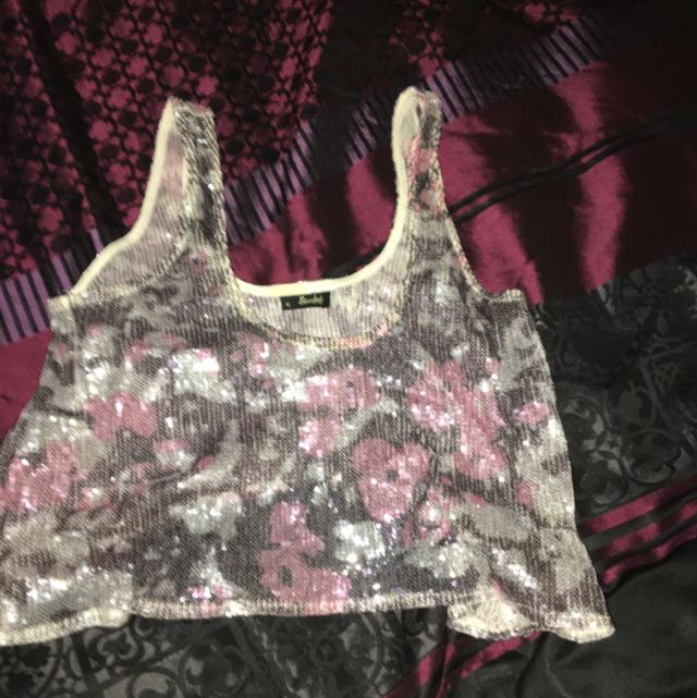 See Through Crop Top From Bardot