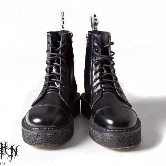 Slightly Numb 厚底馬丁靴