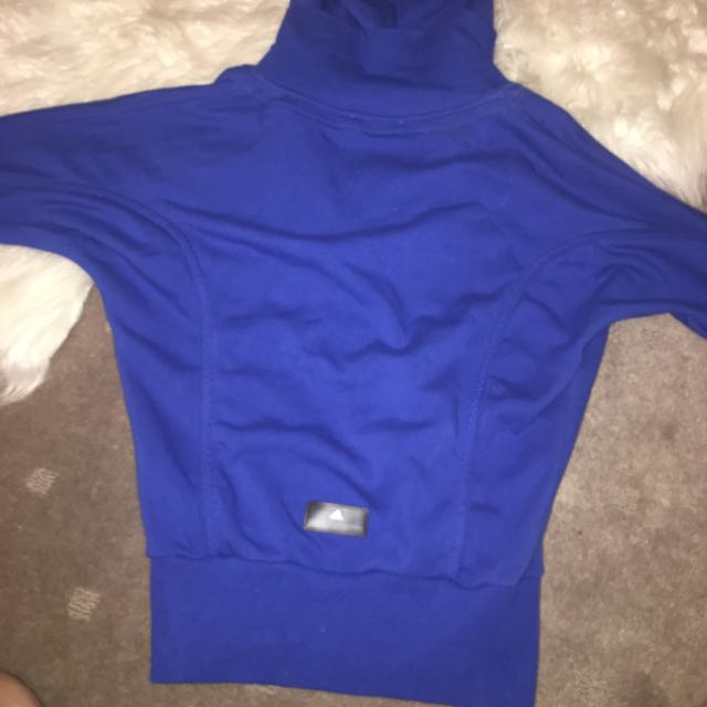 Stella McCartney Adidas Blue Hoodie Jacket