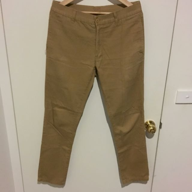 Stray Khaki Chino Men's Size 32