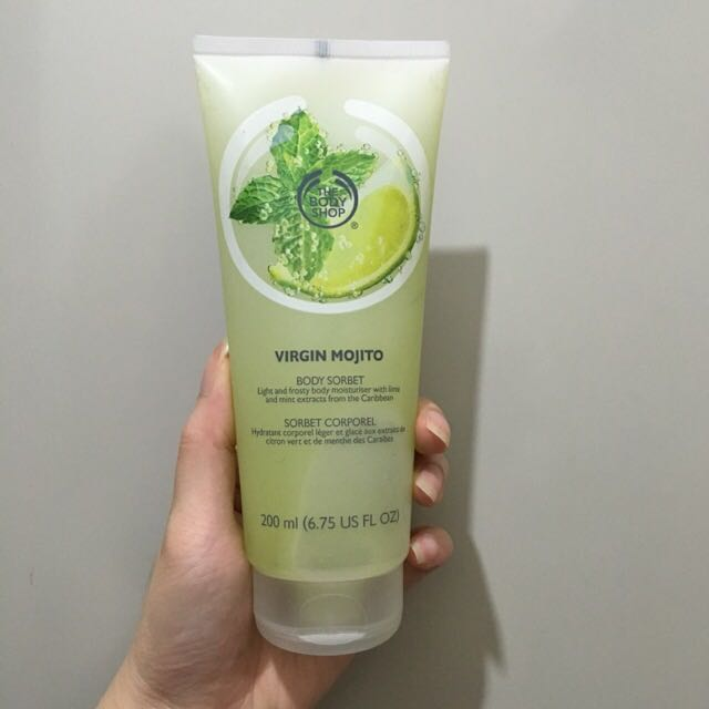 The Body Shop - Virgin Mojito Body Sorbet