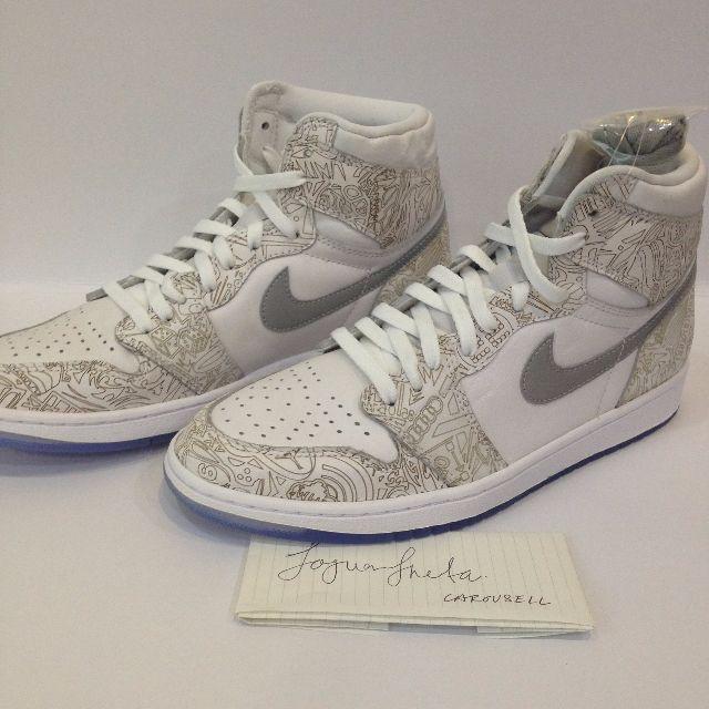784000da0958 US10.5 Nike AJ1 Air Jordan 1 Retro Laser
