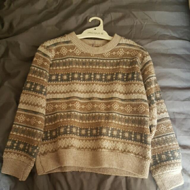 Vintage Knit Jumper