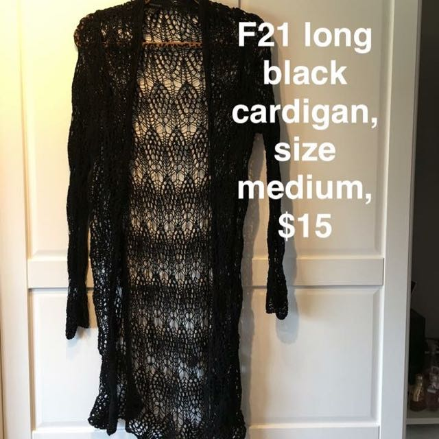 Webbed Pattern Cardigan