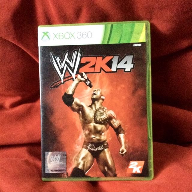 WWE 2K 14 For Xbox 360 With Content Download Original, Video