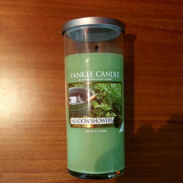 YANKEE CANDLE 圓柱蠟燭 20oz