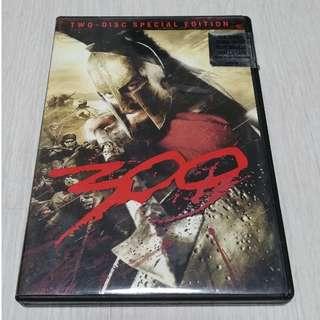300 Original DVD movie