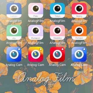 Analog cam film 全系列 濾鏡 特效 iPhone IOS AnalogFilm AnalogCam