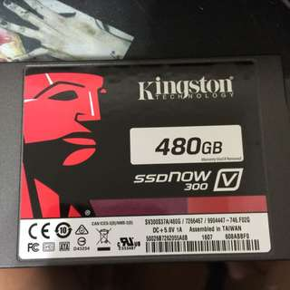 King Ston V300 SSD 固態硬碟 480G