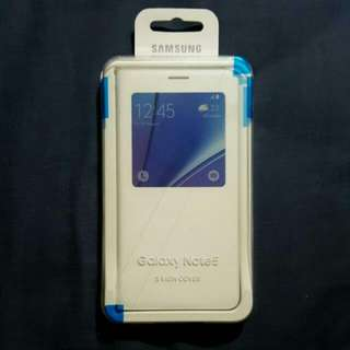 Samsung note 5 S view cover white