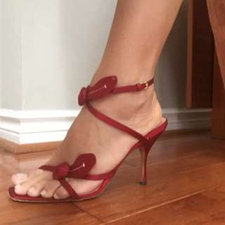 PRADA Satin Sandals