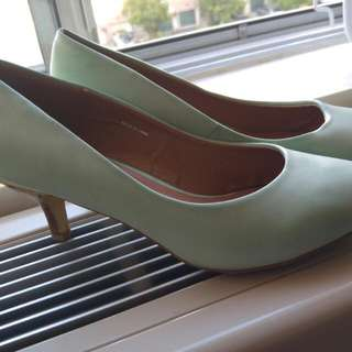 Mint Colour Heels