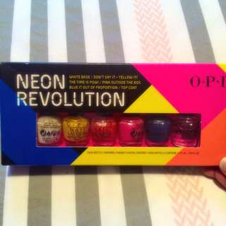 OPI Neon Revolution Nail Polish Pack