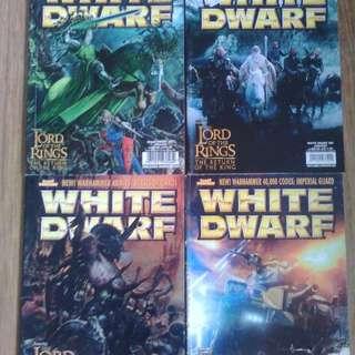 White Dwarf Magazine x9