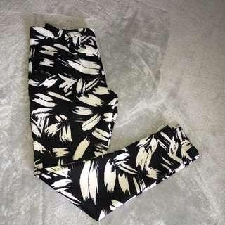 Print Pants Size 14