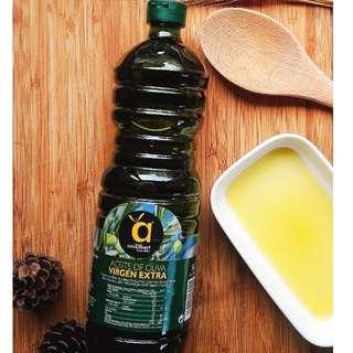 家庭號 西班牙 CASALBERT 愛柏特 EXTRA VIRGIN 特級冷壓初榨橄欖油 1L 塑膠瓶