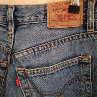 Vintage Levi's 595 High Waisted Mum Jeans Size 12