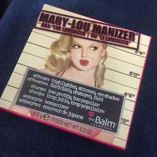 Mary-Lou Manizer