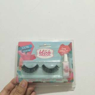 Blink Charm Eyelashes Sexy Volume #1 100% Natural Hair