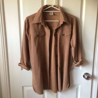 Brown Classy Jacket