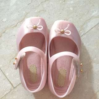 Mini Melissa Mini Ballet in Pink (Reserved)
