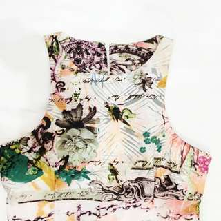 [FREE DELIVERY] Floral Dress (XS-S)