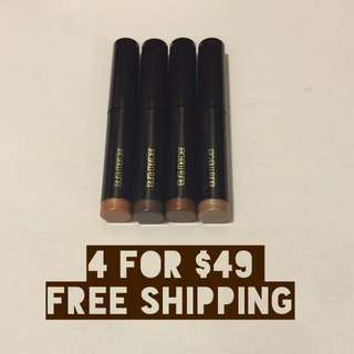 4 x Laura Mercier Caviar Stick Eye Colour