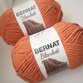Bernat Blanket Yarn in Pumpkin