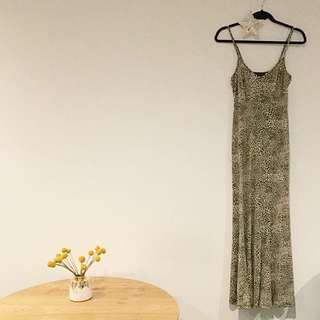 Pilgrim Leopard Print Maxi Dress