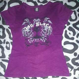 Pre loved Jag Black T Shirt