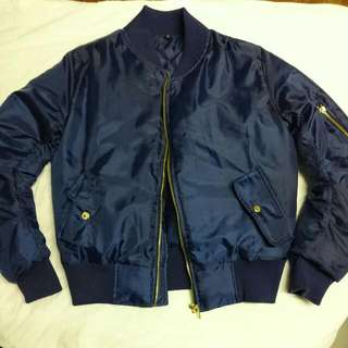 Bomber jacket navy size xs