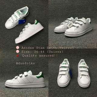 Adidas Stan Smith - Velcro (Unisex)