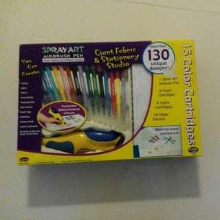Spray Art Airbrush Pen