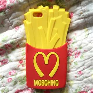 Moschino French Fries iPhone 6 Case