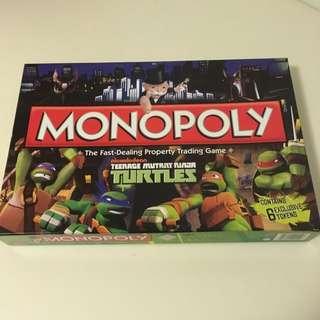 Teenage Mutant Ninja Turtles (TMNT) Monopoly